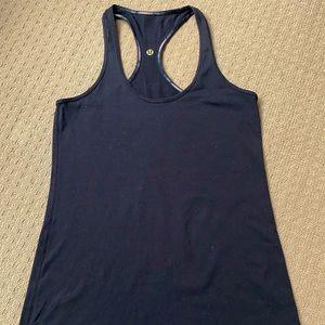Lululemon women workout tank top fit size AU8
